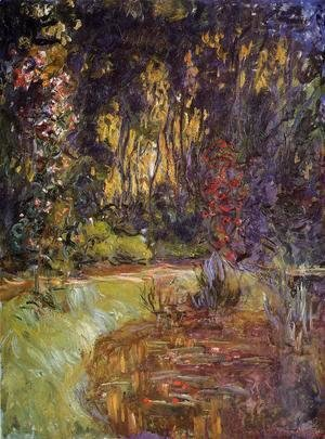 Claude Oscar Monet - Water-Lily Pond at Giverny 2
