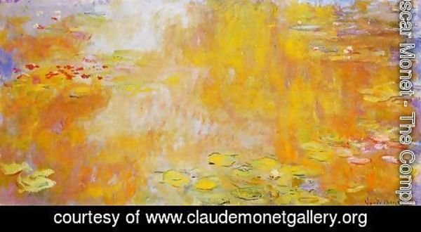 Claude Oscar Monet - The Water-Lily Pond V
