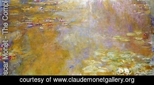 Claude Oscar Monet - The Water-Lily Pond VI