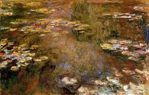 Claude Oscar Monet - The Water-Lily Pond VII