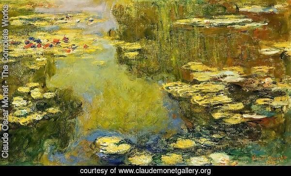 The Water-Lily Pond (detail) I