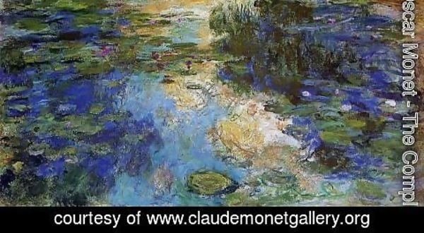 Claude Oscar Monet - The Water-Lily Pond X
