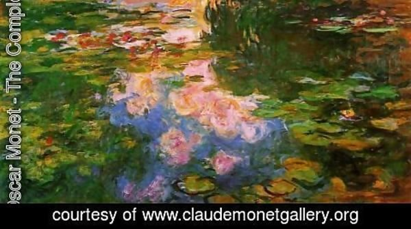 Claude Oscar Monet - The Water-Lily Pond XI