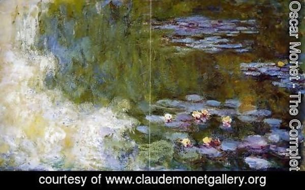Claude Oscar Monet - The Water-Lily Pond XII