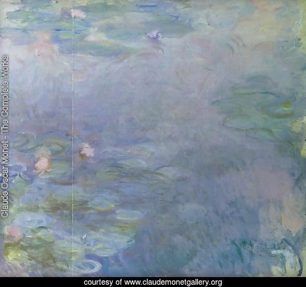 Pale Water-Lilies (detail)