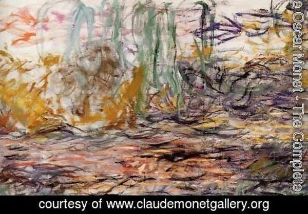 Claude Oscar Monet - Water-Lilies (left half)