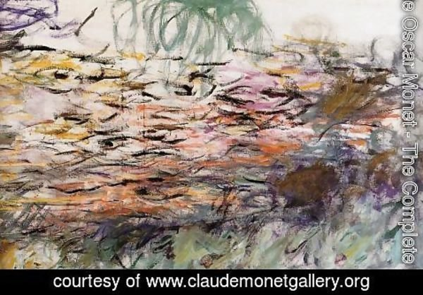 Claude Oscar Monet - Water-Lilies (right half)