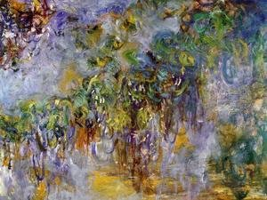 Claude Oscar Monet - Winteria (right half)