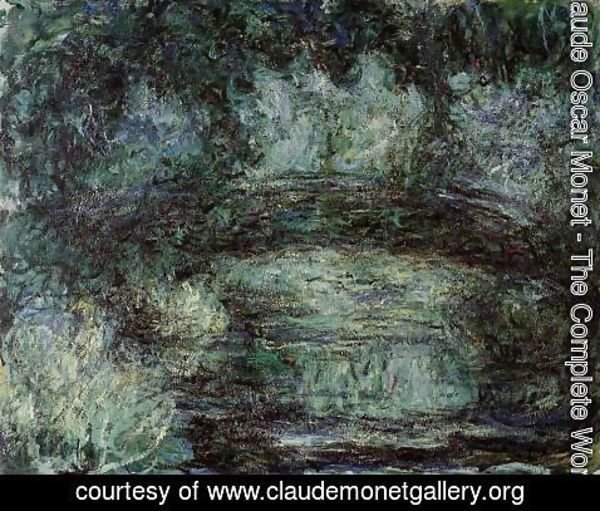 Claude Oscar Monet - The Japanese Bridge I
