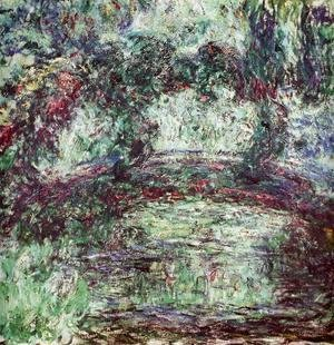 Claude Oscar Monet - The Japanese Bridge II