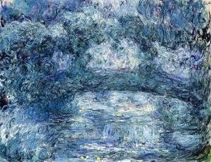 Claude Oscar Monet - The Japanese Bridge IV