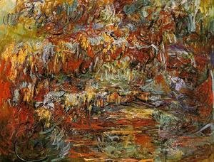 Claude Oscar Monet - The Japanese Bridge X