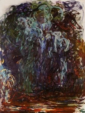Claude Oscar Monet - Weeping Willow VII