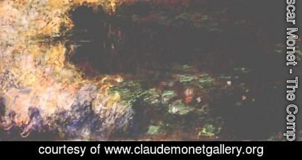 Claude Oscar Monet - Reflections of Clouds on the Water-Lily Pond (tryptich, right panel)