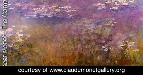 Claude Oscar Monet - Agapanthus (center panel)