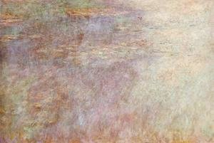 Claude Oscar Monet - Water-Lillies Pond (left half)