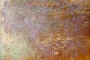 Claude Oscar Monet - Water-Lilies (right half) I
