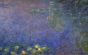 Claude Oscar Monet - Morning (right-center detail)