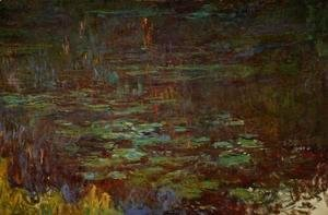 Claude Oscar Monet - Sunset (right half)