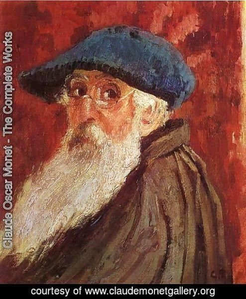 Claude Oscar Monet - Self Portrait I