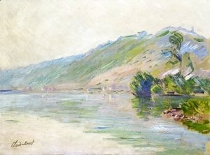 Claude Oscar Monet - The Seine at Port-Villes, Clear Weather