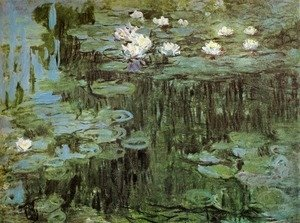 Claude Oscar Monet - Water Lilies I 2