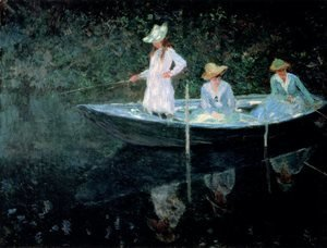 Claude Oscar Monet - In The Rowing Boat