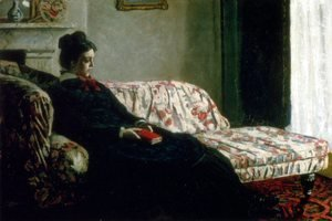 Claude Oscar Monet - Meditation (Madame Monet On The Sofa)