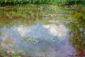 Claude Oscar Monet - Water Lilies: Clouds