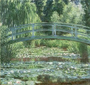 Claude Oscar Monet - The Japanese Bridge 3