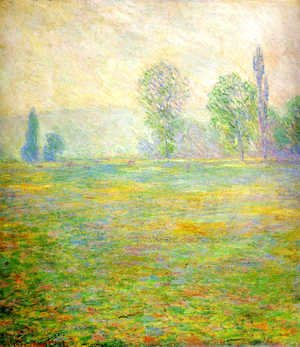 Claude Oscar Monet - Meadows at Giverny