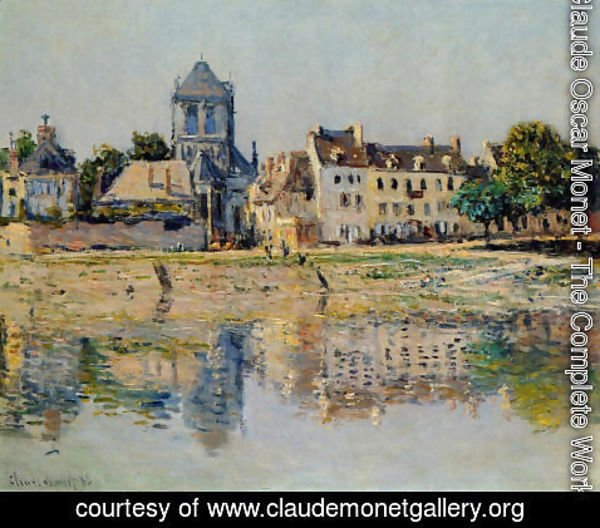Claude Oscar Monet - By the River at Vernon