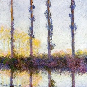 Claude Oscar Monet - Four Trees