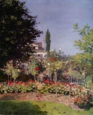 Claude Oscar Monet - Garden in Flower