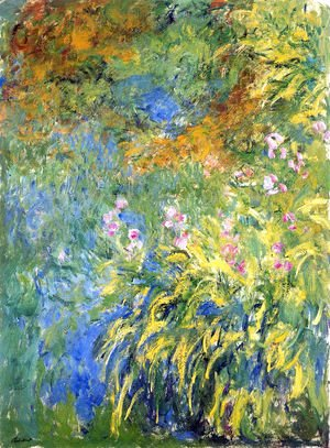 Claude Oscar Monet - Irises 1
