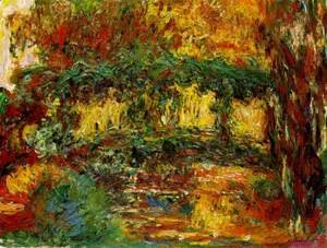 Claude Oscar Monet - japanese-bridge