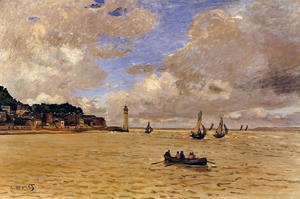 Claude Oscar Monet - Lighthouse at the Hospice 2