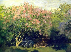 Claude Oscar Monet - Lilacs, Grey Weather
