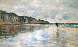 Claude Oscar Monet - Low Tide at Pourville 2
