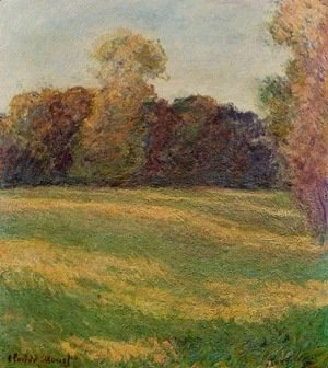 Claude Oscar Monet - Meadow in the Sun