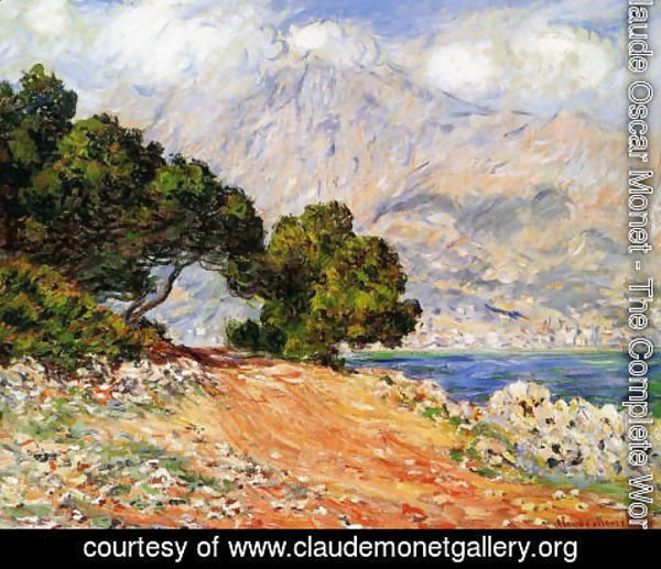 Claude Oscar Monet - Menton Seen from Cap Martin