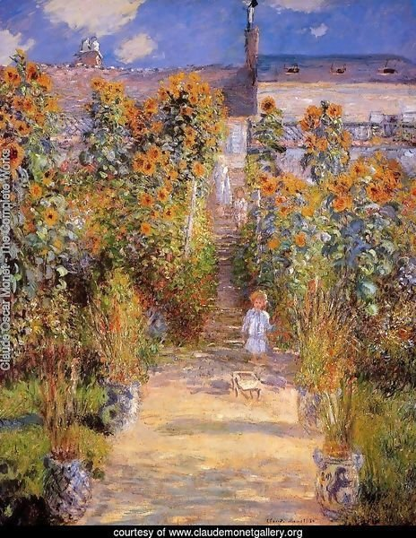 Monet's Garden at Vetheuil 2