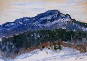 Claude Oscar Monet - Mount Kolsaas 1