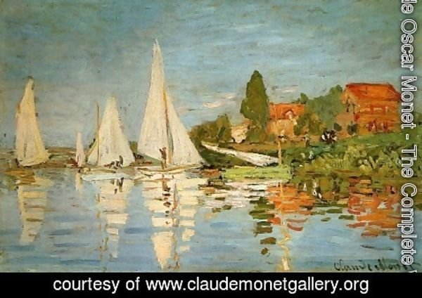 Claude Oscar Monet - Regatta at Argenteuil 1