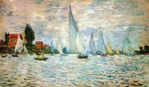 Claude Oscar Monet - Regatta at Argenteuil 2