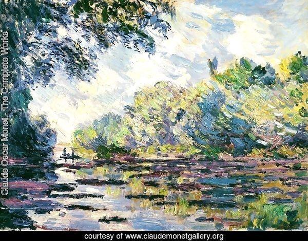 Section of the Seine, near Giverny