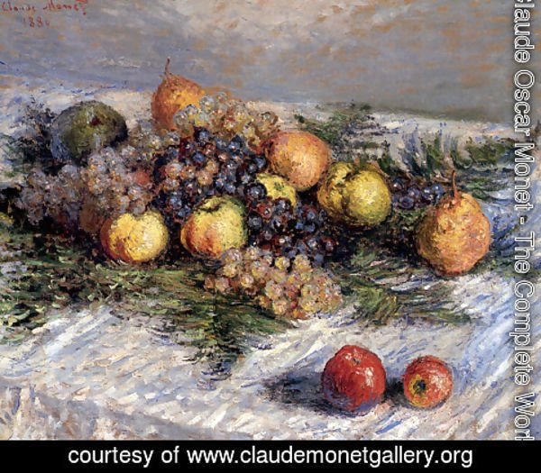 Claude Oscar Monet - Still Life