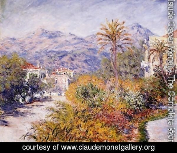 Claude Oscar Monet - Strada Romana in Bordighera