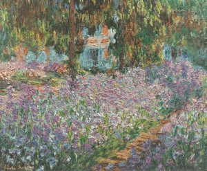 Claude Oscar Monet - The Artist's Garden at Giverny