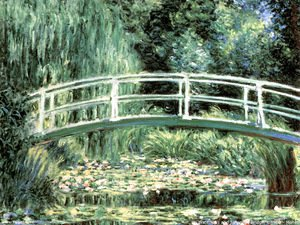 Claude Oscar Monet - The bridge